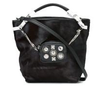 studded clutch detail shoulder bag
