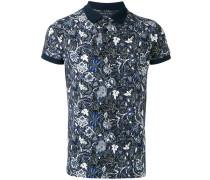 Poloshirt mit floralem Print - men - Baumwolle