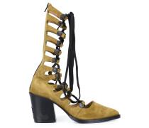 Stiefel mit Schnürung - women - Leder - 39