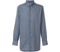 Klassisches Butto-down-Hemd