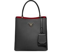 'Double' Saffiano-Handtasche
