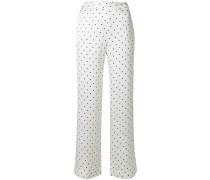 polka dot pyjama trousers