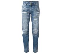 'Moto' Jeans - women - Baumwolle - 27
