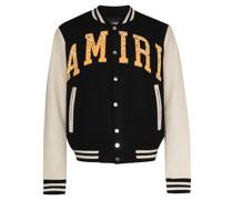 logo-patch varsity jacket