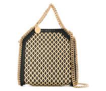 woven straw Falabella bag