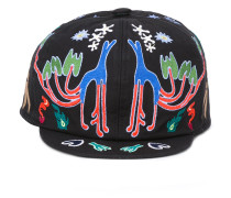 Kappe mit Stickerei - men - Baumwolle