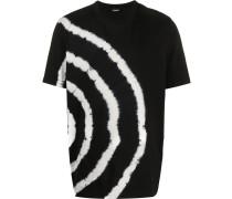T-Shirt in Batikoptik