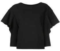 short-sleeved slouched top