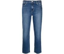 Taillenhohe Sada Cropped-Jeans
