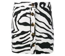 Minirock mit Zebra-Print