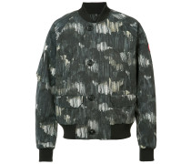 Bomberjacke mit Print - men - Nylon - XL