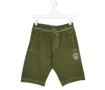 Shorts mit Logo-Stempel - kids - Baumwolle - 16