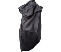 structured sleeveless jacket