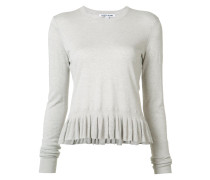 ruffled hem jumper - women