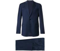 formal pinstripe suit
