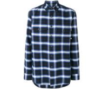 Parrot plaid flannel shirt