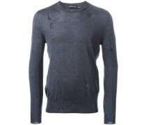 Pullover im Distressed-Look - men - Seide/Wolle