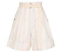 'Madox' Shorts mit Falten