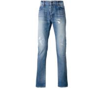 Jeans in Distressed-Optik - men - Baumwolle - 27