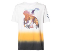 'Forest Print Cherub' T-Shirt