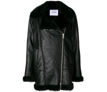 oversized asymmetric coat
