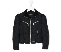 front zip padded jacket