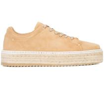 Sneakers mit Espadrille-Sohle