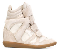 'Beckett' High-Top-Sneakers mit verdecktem