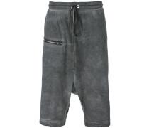 zipped shorts