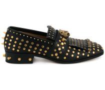 Loafer mit Fransen - men - Leder/metal - 8.5