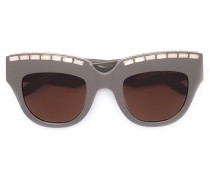 Verzierte Cat-Eye-Sonnnenbrille