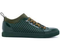 perforated sneakers