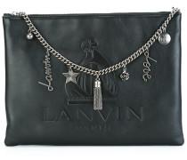 'So Lanvin' chain trim clutch