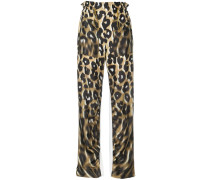 'Born Free' Hose mit Leopardenmuster