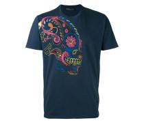 - T-Shirt mit Totenkopf-Print - men - Baumwolle