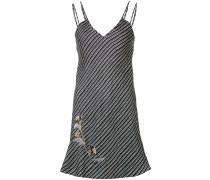 Minikleid mit diagonalen Streifen