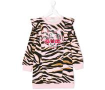 Pulloverkleid mit Animal-Print
