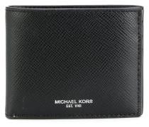 logo stamp billfold wallet