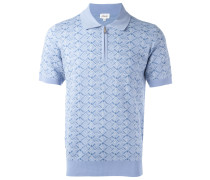 Gemustertes Poloshirt