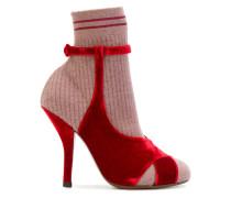 Sandal-shaped boots