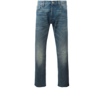 CroppedJeans mit TigerPatch