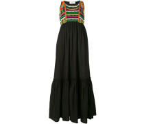 Kleid mit gewebtem Top - women