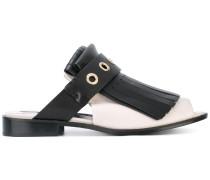 fringed sandals - women - Leder - 39