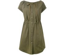 - Kleid mit geraffter Taille - women - Baumwolle