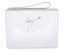 'Margery' Clutch - women - Kalbsleder/Lackleder