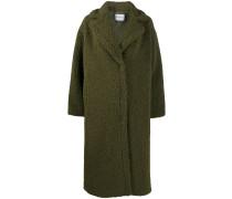 Mantel aus Faux Shearling