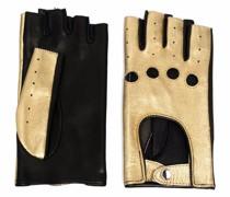 Handschuhe im Metallic-Look