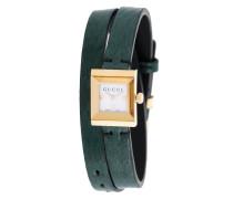 Wickelarmband mit Uhr