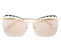 Rechteckige Sonnenbrille - women