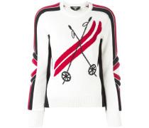 'Ski' Intarsien-Pullover